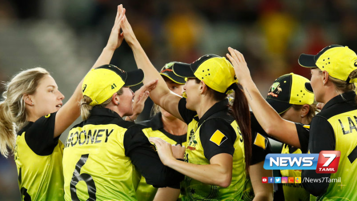 Australia cruise to fifth World T20 title