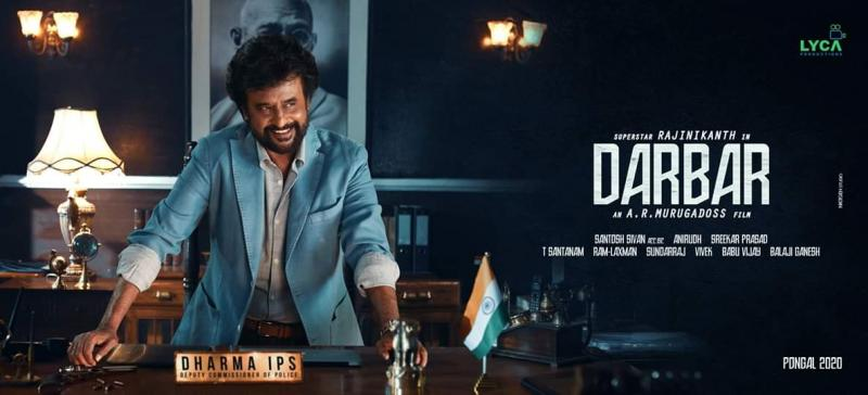darbar fanmade poster1