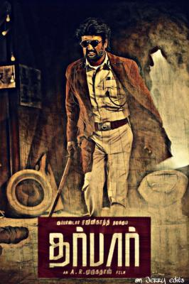 darbar fanmade poster 2