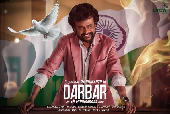 darbar fanmade poster 3
