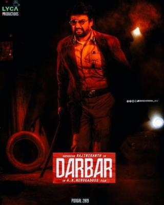darbar fanmade poster 7